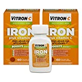 Cheap Vitron-C High Potency Iron Supplement with Vitamin C | 60 Count | Pack of 2