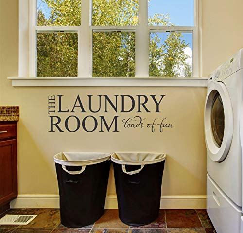 Laundry Room Wall Decal - Wall -