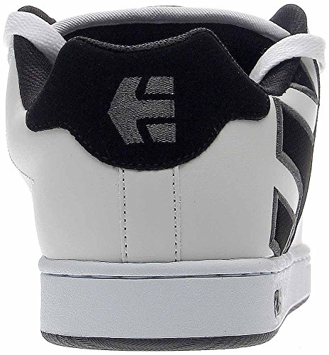 Etnies Fader Skate Shoe Bianco Grigio Scuro