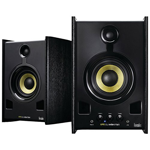 Hercules XPS Monitor Speakers Black