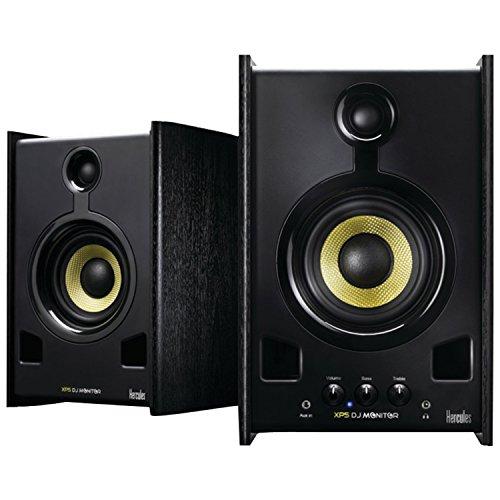 Mp3 Dj Components (Hercules DJ Hercules XPS 2.0 60 DJ SET Monitor Speakers (Black))