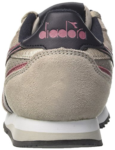 Diadora Malone S y, Zapatillas Para Niños Gris (Grigio Nuvola/argento)