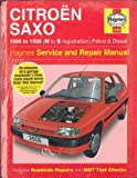 Citroen Saxo (1996 to 1998, N to S reg) Service and Repair Manual by Spencer Drayton (1998-12-06)