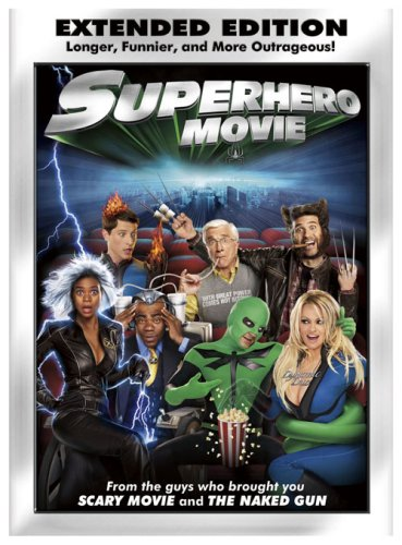 Superhero Movie (Extended - Scary Movie Dvd