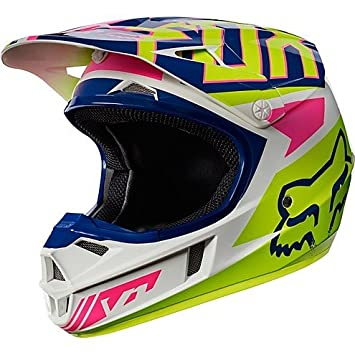 Casco Moto Cross Enduro niño Fox V1 Youth Falcon White MEDIUM