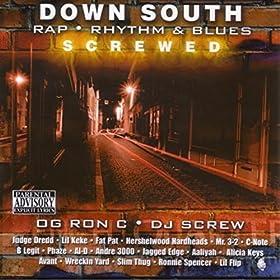 Amazon.com: Down South Rap, R&B (Screwed): OG Ron C & DJ Screw: MP3 ...