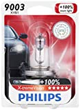 Philips 9003 X-tremeVision Upgrade Headlight Bulb, 1 Pack