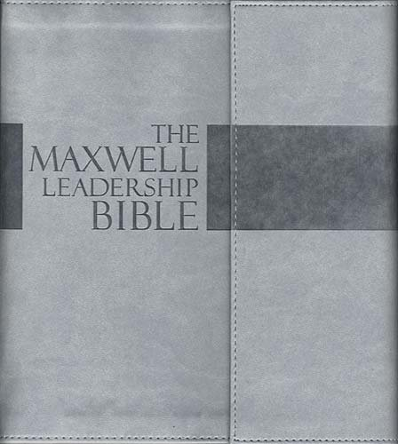 Download The Maxwell Leadership Bible: TakeNote Edition: New King James Version Dove Gray Leathersoft pdf