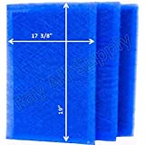 Dynamic Air Cleaner Replacement Filter Pads 18 7/8 x 21 1/2 Refills (3 Pack)