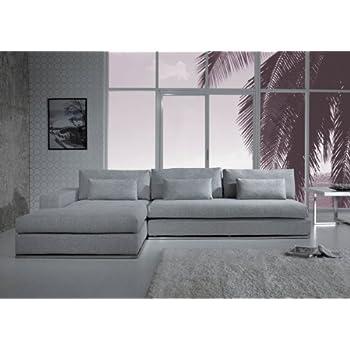 Limari Home Lim-14138 Lulu Sectional Sofa, Grey