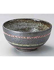 Iga Lines 6inch Set Of 10 Ramen Bowls Black Porcelain Made In Japan