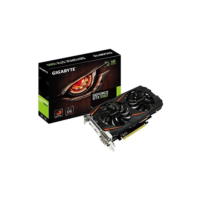 Gigabyte GeForce GTX 1060 WINDFORCE OC 6