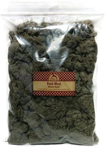 Midwest Hearth - Lana de roca para hornillo de gas, 170 g, bolsa