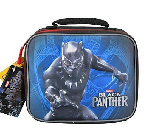Black Panther Molded Rectangle Lunch Bag