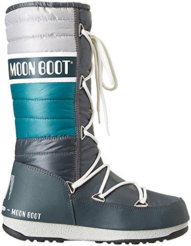 Moon Stivali Petrolio Arg E Verde Quilted Unisex adulto Boot W 0I4qxrI