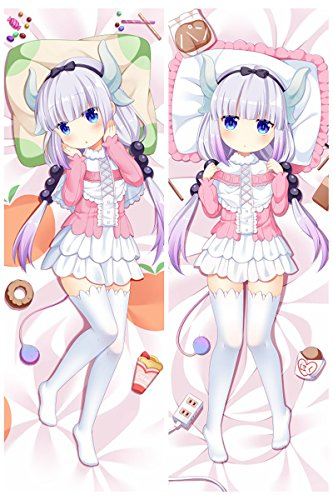Kanna Kamui Peach Skin/2Way Skin 150cm x 50cm Dakimakura Body Pillowcase(2Way Skin) by Ace Mall