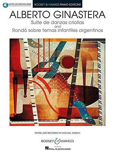 SUITE DE DANZAS CRIOLLAS AND RONDO PIANO BOOK/AUDIO BOOSEY & HAWKES PIANO EDITIONS