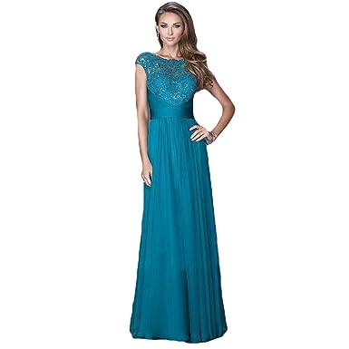 Wewind Damen Kleid Moderne Sexy Elegant Kleid Lange Kleid Abendkleid