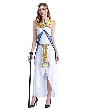 d1cb73e6c97c Amazon.com: Weimisi Women's Egyptian Queen Costume Halloween Costume ...