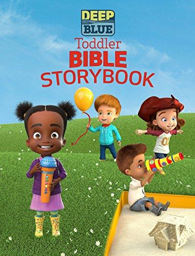 Deep Blue Toddler Bible Storybook
