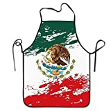 Doormat bikini Unisex Men&Women Mexican Flag Grunge Chef&Cook Hen Bib Apron Waterproof Perfect for Cooking,Baking,Crafting,BBQ