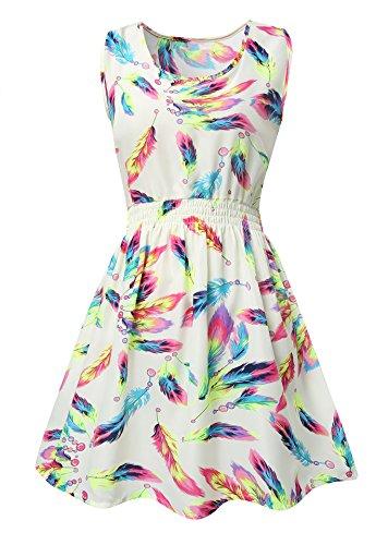 Womens-Floral-Pattern-Mini-Dress