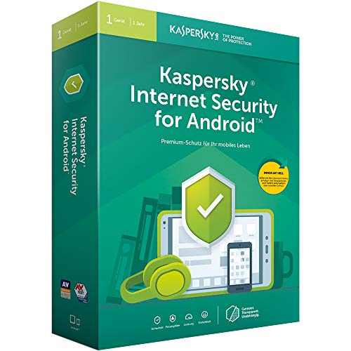Price comparison product image Kaspersky Internet Security for Android 1 Gerät. Für Windows 7 / 8 / 10 / Android