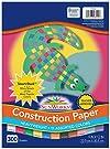"SunWorks Construction Paper, 11 Assorted Colors, 9"" x 12"", 300 Sheets"