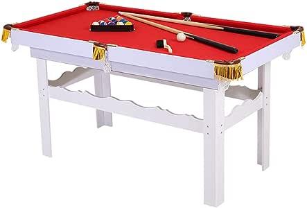 TY-Pool Table MMM@ Mesa de Billar Hogar Infantil Billar Americano 1.2m Mesa de Bolas de Madera Billar Centro de Gravedad Dureza precisa Bolsa de Red de Nylon Fuerte Durable: Amazon.es: Hogar