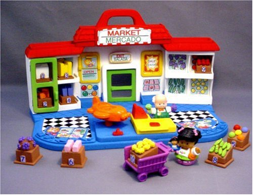 Fisher Price Little People Shop 'N Learn Market by Fisher-Price (Image #1)