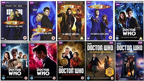 Doctor Who - Complete Collection - DVD - Seasons 1-10