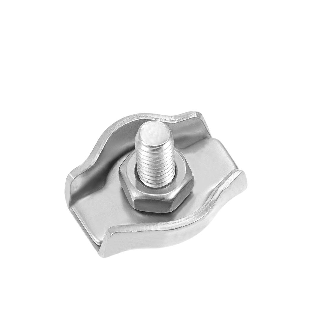 Sourcing Map 304/in acciaio INOX a filo serracavo Suit for 1/mm-1.5/mm corda