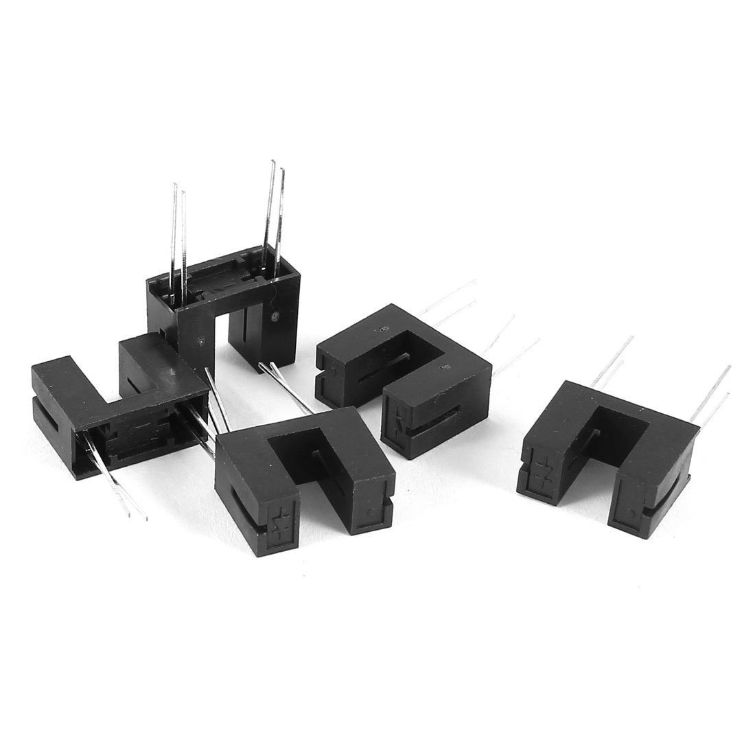 uxcell 5pcs ITR9608 Slotted Reflective Photoelectric Photosensor Opto Switch