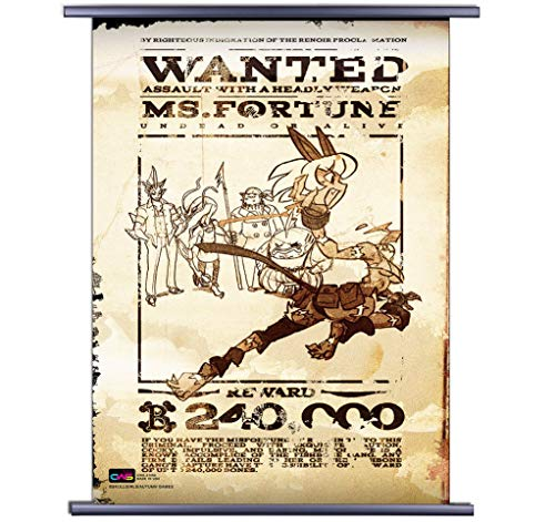 (CWS-Media Group Skullgirls: Misfortune Dead or Alive Wall Croll Poster (32 x 44 Inches) Officially Licensed)