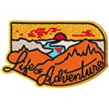 Life of Adventure Embroidered Sew or Iron-on Patch