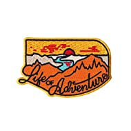 Asilda Store Life of Adventure Embroidered Sew or Iron-on Patch