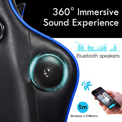 Gtracing Gaming Chair With Bluetooth Speakers Music Video