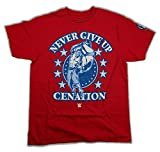 John Cena Red Persevere Kids WWE T-shirt Boys-S (6-7)