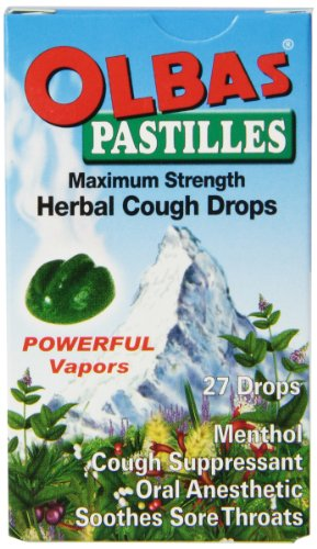 Olbas Cough Drops Pastilles,27 Count