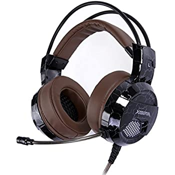 XIBERIA E1 USB Wired Surround Sound Over-ear Pro Gaming Headset with Microphone