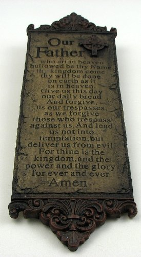 Lord's Prayer Wall Plaque , Kid ,Toy , Hobbie ,