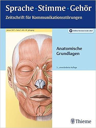 Sprache - Stimme - Gehör - Anatomische Grundlagen: Amazon.de: Bücher