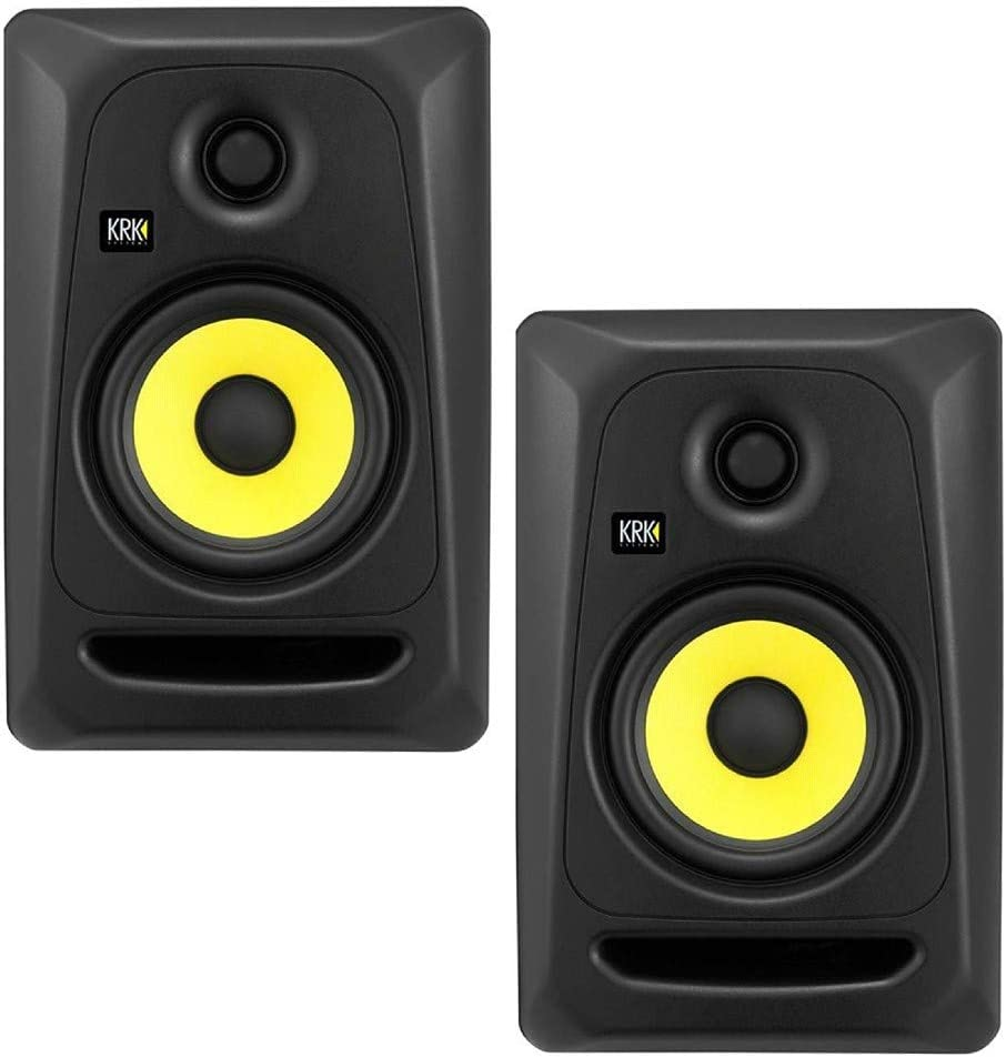 "KRK Rokit CL5 G3 Classic Professional Bi-Amp 5"" Powered Studio ..."