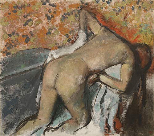 Edgar Degas After The Bath, Woman Drying Herself Princeton University Art Museum 30