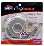 Best Elmers Fabric Glues - Elmer's E4004 CraftBond Double Sided Scrapbooking Tape, Permanent Review