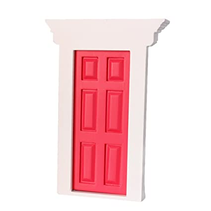 Buy Fityle 112th Dolllhouse Wooden Door Toys Online At Low Prices