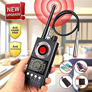 Anti Spy Detector & RF Detector & Wireless Bug Hidden Camera Detectors for GPS Tracking GSM Listening Device Finder,Camera Finder Signal Alarm