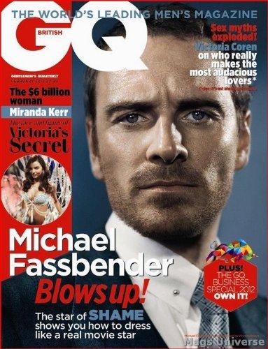 Download Michael Fassbender - British UK GQ Magazine - February 2012 ebook