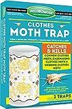 Pest No More GP511 Clothes Moth Trap (2 Traps Per Pack)