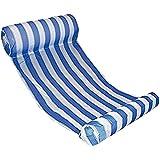 WavePy Premium Swimming Pool Float Hammock, Inflatable Swimming Pools Lounger, Water Hammock Lounge, Luxury Swimming Pool and Ocean Lilo, Blue